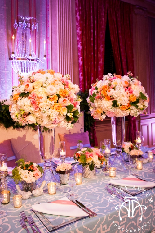 fort worth club open house wedding ideas tips Lauren Schmidt Events blue coral light modern geometric by tracy autem photogrpahy-0012