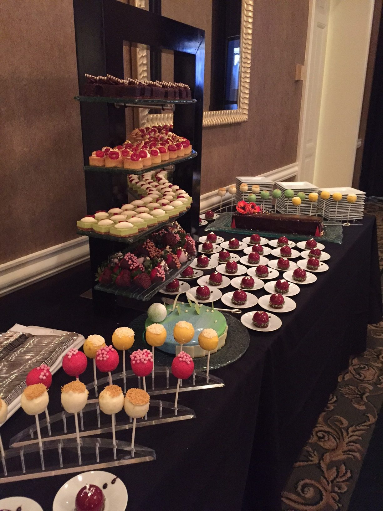 Trend Alert Mini Dessert Displays Fort Worth Club Events
