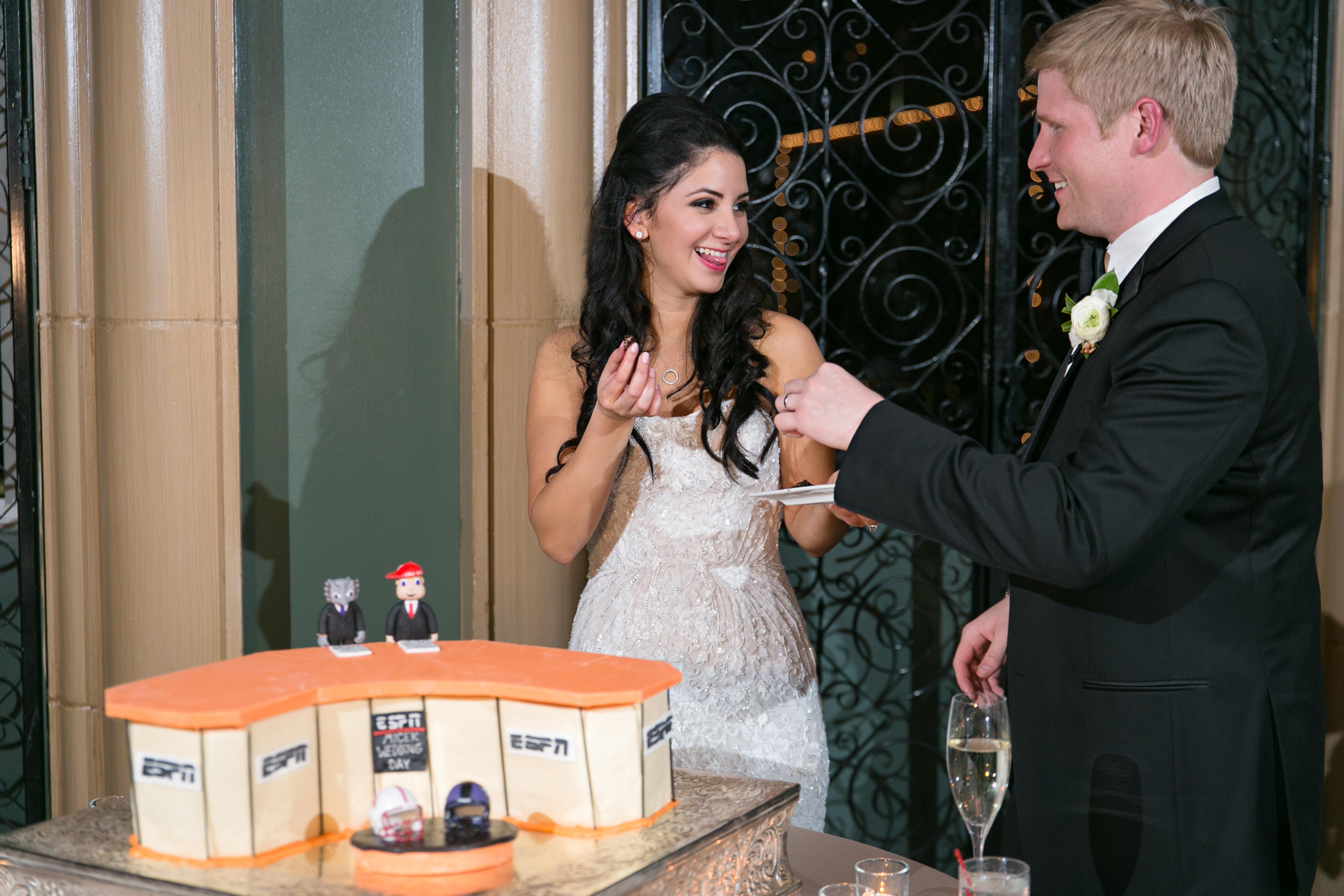 featured wedding yasmin ettefagh and scott micek fort